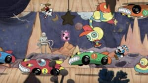Cuphead Switch Screenshot