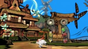 Okami HD Switch Screenshot