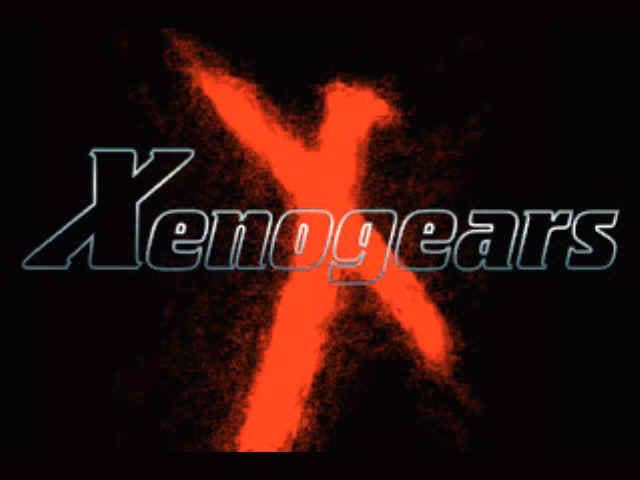 Title screen for Xenogears