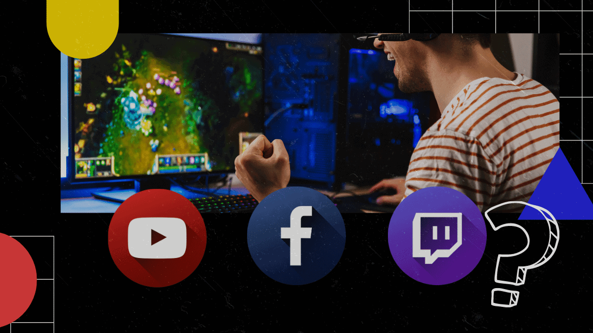 Streaming in 2020. YouTube Gaming, Twitch, and Facebook Gaming