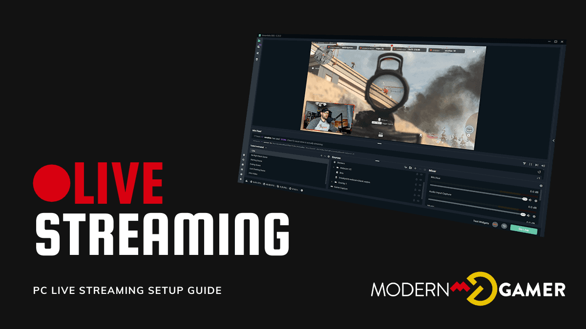 PC Live Streaming Setup Guide